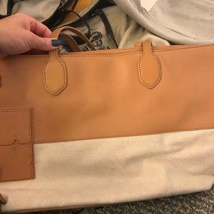 Tory Burch canvas bag